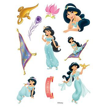 Aladdin Assortment ofs Design Water Transfer Temporary Tattoo(fake Tattoo) Stickers NO.14161