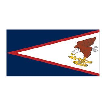 American Samoa Flag Design Water Transfer Temporary Tattoo(fake Tattoo) Stickers NO.12717