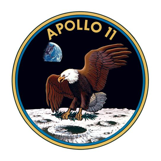 Apollo 11 Design Water Transfer Temporary Tattoo(fake Tattoo) Stickers NO.14460