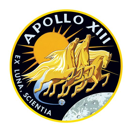 Apollo XIII Design Water Transfer Temporary Tattoo(fake Tattoo) Stickers NO.14824
