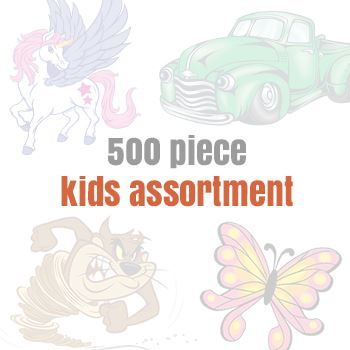 Assorteds for Kids (500 tattoos) Design Water Transfer Temporary Tattoo(fake Tattoo) Stickers NO.14146