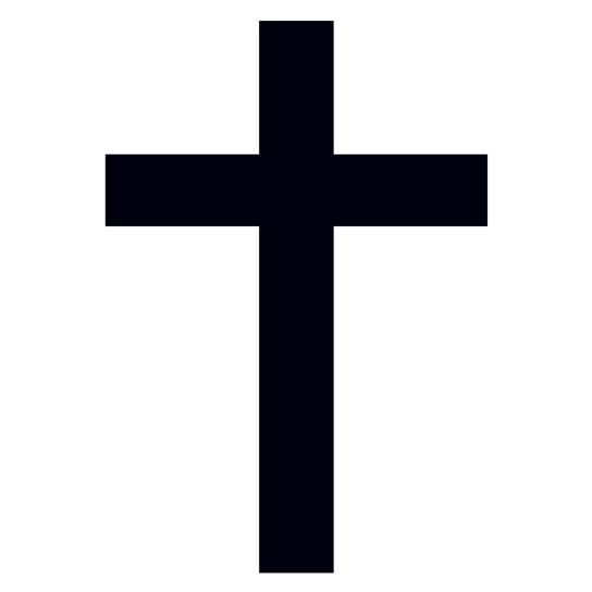 Black Cross Design Water Transfer Temporary Tattoo(fake Tattoo) Stickers NO.12931