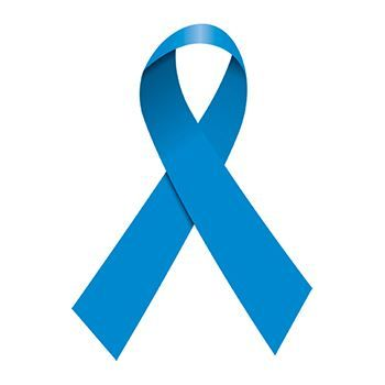 Blue Awareness Ribbon Design Water Transfer Temporary Tattoo(fake Tattoo) Stickers NO.12978