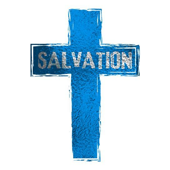 Blue Cross Salvation Design Water Transfer Temporary Tattoo(fake Tattoo) Stickers NO.12944