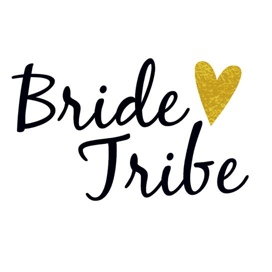 Bride Tribe Design Water Transfer Temporary Tattoo(fake Tattoo) Stickers NO.14230
