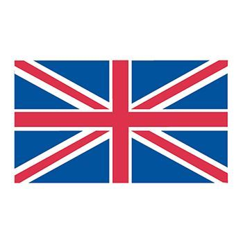 Britain Flag Design Water Transfer Temporary Tattoo(fake Tattoo) Stickers NO.12737