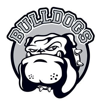 Bulldogs Design Water Transfer Temporary Tattoo(fake Tattoo) Stickers NO.14890