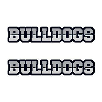 Bulldogs Text Design Water Transfer Temporary Tattoo(fake Tattoo) Stickers NO.12979