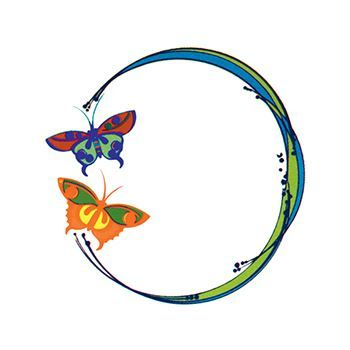 Butterfly Ring Design Water Transfer Temporary Tattoo(fake Tattoo) Stickers NO.13743