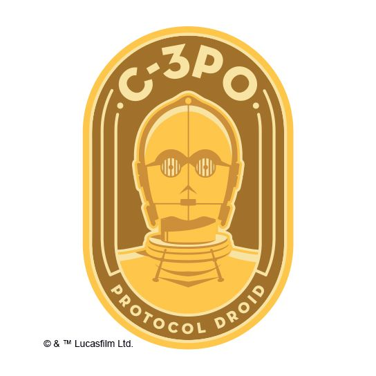 C-3PO Design Water Transfer Temporary Tattoo(fake Tattoo) Stickers NO.14073