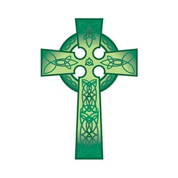 Celtic Cross Design Water Transfer Temporary Tattoo(fake Tattoo) Stickers NO.13395