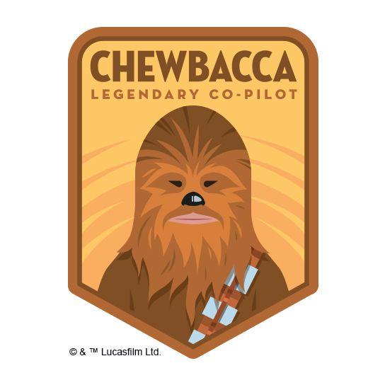 Chewbacca Design Water Transfer Temporary Tattoo(fake Tattoo) Stickers NO.14069