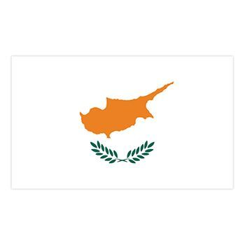 Cyprus Flag Design Water Transfer Temporary Tattoo(fake Tattoo) Stickers NO.11886
