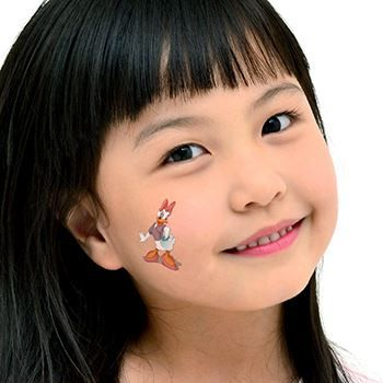 Daisy Duck Assortment ofs Design Water Transfer Temporary Tattoo(fake Tattoo) Stickers NO.14142
