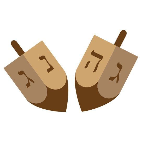Dreidel Design Water Transfer Temporary Tattoo(fake Tattoo) Stickers NO.13392