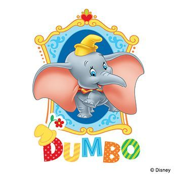 Dumbo Design Water Transfer Temporary Tattoo(fake Tattoo) Stickers NO.14007