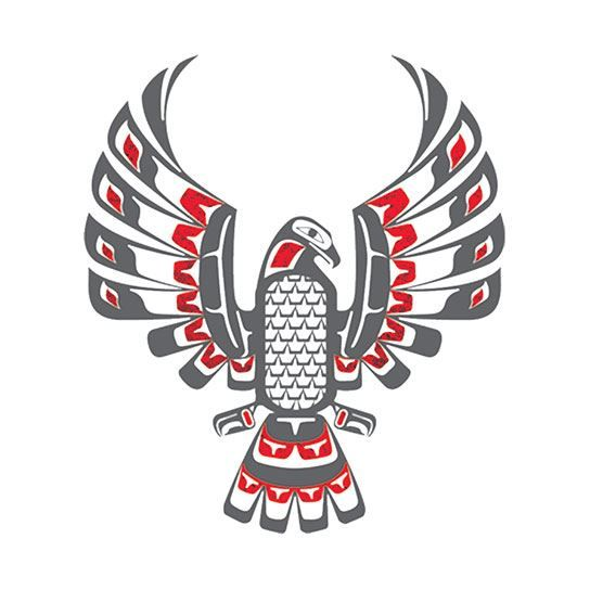 Eagle Totem Metallic Design Water Transfer Temporary Tattoo(fake Tattoo) Stickers NO.14199