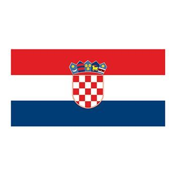 Flag of Croatia Design Water Transfer Temporary Tattoo(fake Tattoo) Stickers NO.12804