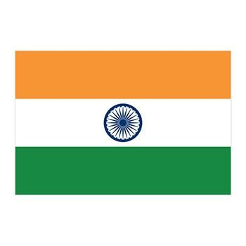 Flag of India Design Water Transfer Temporary Tattoo(fake Tattoo) Stickers NO.11864