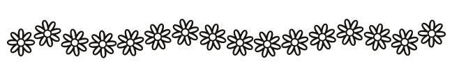 Glow in the Dark Daisy Chain Band Design Water Transfer Temporary Tattoo(fake Tattoo) Stickers NO.14450
