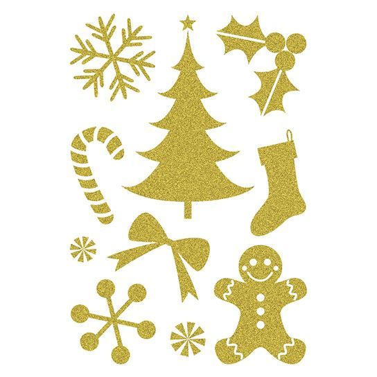 Gold Sugar Holiday Sheet Design Water Transfer Temporary Tattoo(fake Tattoo) Stickers NO.12881