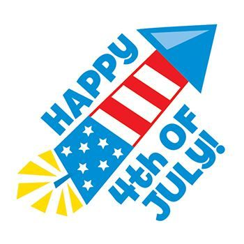 Happy 4th of July Design Water Transfer Temporary Tattoo(fake Tattoo) Stickers NO.12037