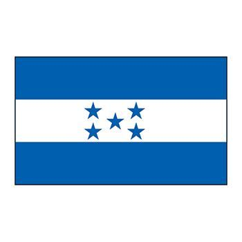 Honduras Flag Design Water Transfer Temporary Tattoo(fake Tattoo) Stickers NO.12763