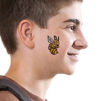 Hornets Design Water Transfer Temporary Tattoo(fake Tattoo) Stickers NO.13638