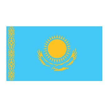 Kazakhstan Flag Design Water Transfer Temporary Tattoo(fake Tattoo) Stickers NO.11868
