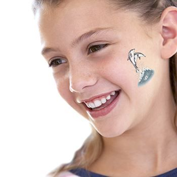 Leaping Dolphins Design Water Transfer Temporary Tattoo(fake Tattoo) Stickers NO.13542