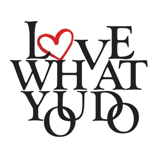 Love What You Do Metallic Design Water Transfer Temporary Tattoo(fake Tattoo) Stickers NO.14219