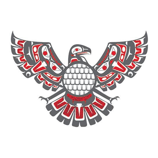 Majestic Eagle Metallic Design Water Transfer Temporary Tattoo(fake Tattoo) Stickers NO.14229