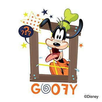 Mickey & Friends: Goofy Design Water Transfer Temporary Tattoo(fake Tattoo) Stickers NO.13968