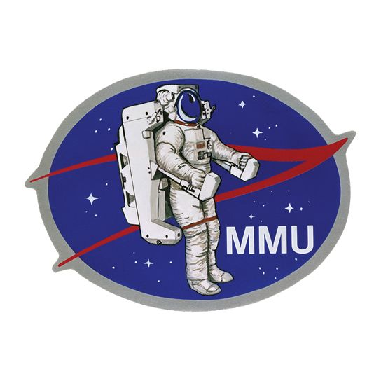 MMU NASA Design Water Transfer Temporary Tattoo(fake Tattoo) Stickers NO.14836