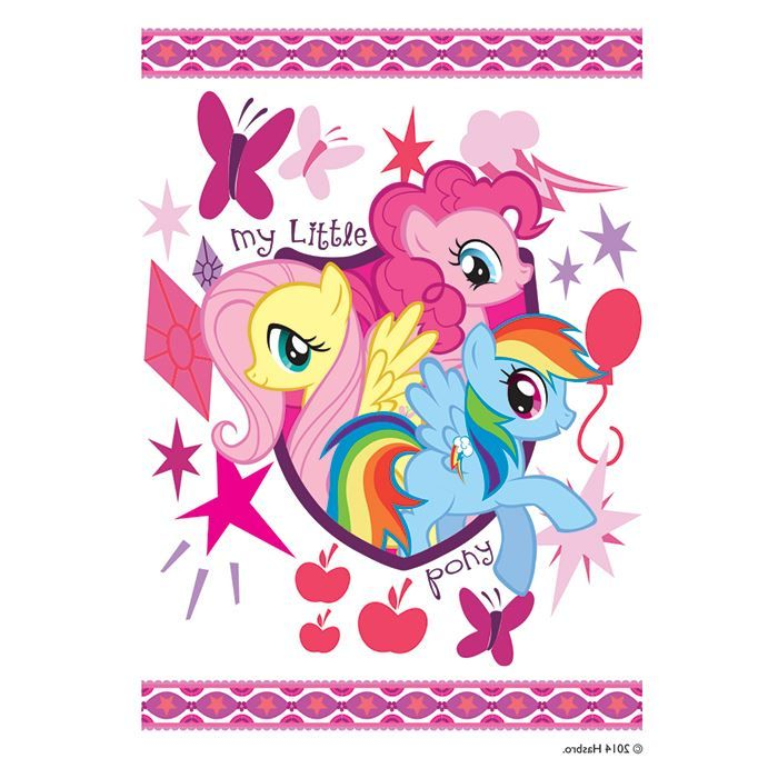 My Little Pony Friends Design Water Transfer Temporary Tattoo(fake Tattoo) Stickers NO.13546