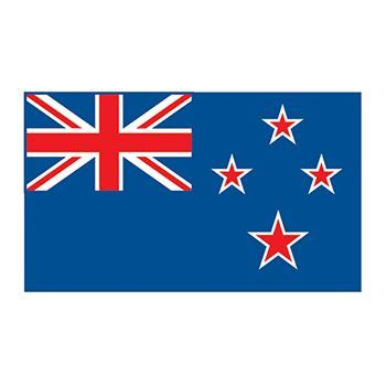 New Zealand Flag Design Water Transfer Temporary Tattoo(fake Tattoo) Stickers NO.12765
