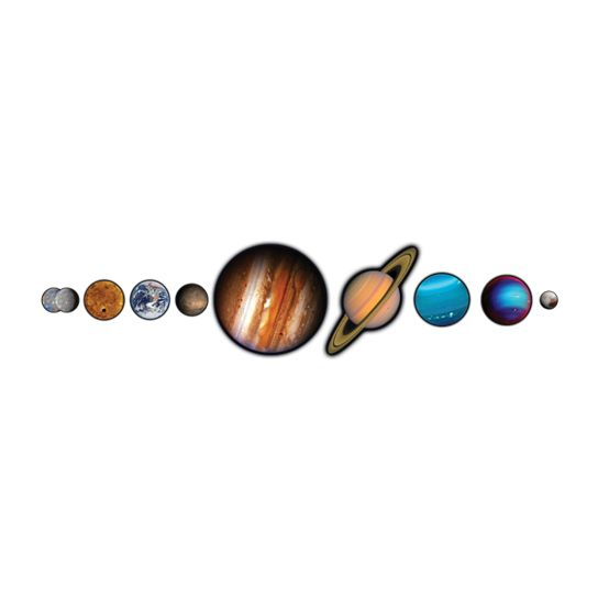 NASA Photo-Realistic Planets Design Water Transfer Temporary Tattoo(fake Tattoo) Stickers NO.14454