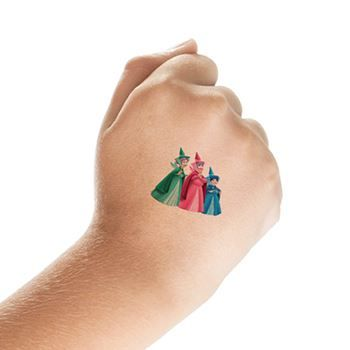 40daf297f6a49 Princess Aurora and Fairy Godmotherss Design Water Transfer Temporary Tattoo (fake Tattoo) Stickers NO