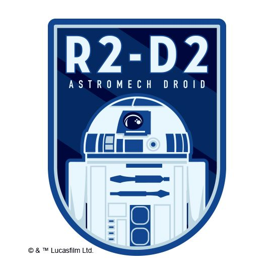 R2-D2 Design Water Transfer Temporary Tattoo(fake Tattoo) Stickers NO.14071