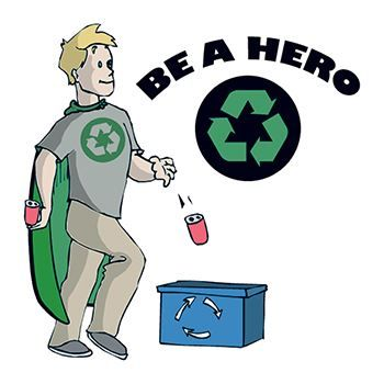Recycling Hero Design Water Transfer Temporary Tattoo(fake Tattoo) Stickers NO.12962