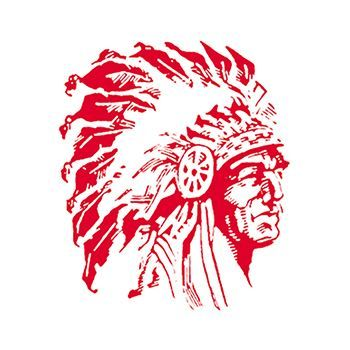 Red Indian Design Water Transfer Temporary Tattoo(fake Tattoo) Stickers NO.14895