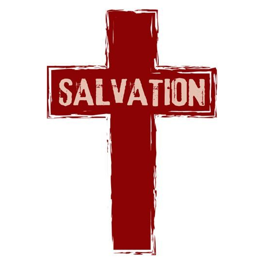Red Salvation Cross Design Water Transfer Temporary Tattoo(fake Tattoo) Stickers NO.12940