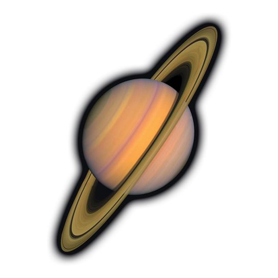 Saturn Design Water Transfer Temporary Tattoo(fake Tattoo) Stickers NO.14463