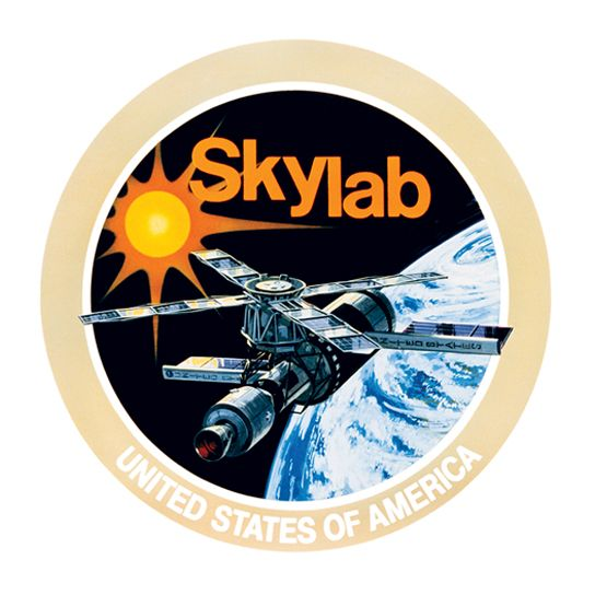 Sky Lab NASA Design Water Transfer Temporary Tattoo(fake Tattoo) Stickers NO.14819