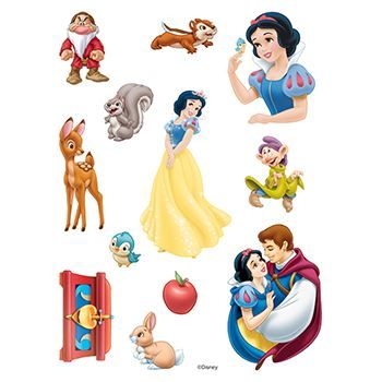 Snow White Assortment ofs Design Water Transfer Temporary Tattoo(fake Tattoo) Stickers NO.14136
