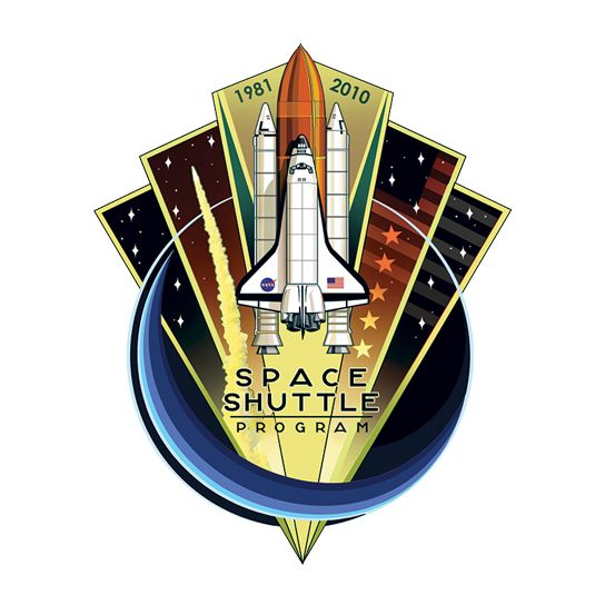 NASA Space Shuttle Design Water Transfer Temporary Tattoo(fake Tattoo) Stickers NO.14828