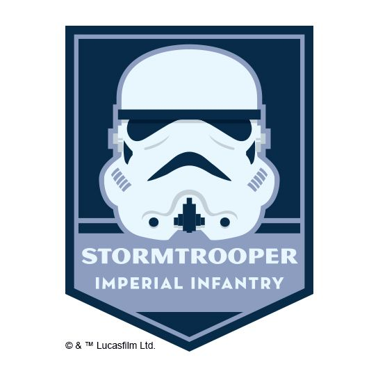 Stormtrooper Design Water Transfer Temporary Tattoo(fake Tattoo) Stickers NO.14070