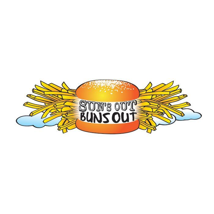 Suns Out Buns Out Lower Back Design Water Transfer Temporary Tattoo(fake Tattoo) Stickers NO.12415
