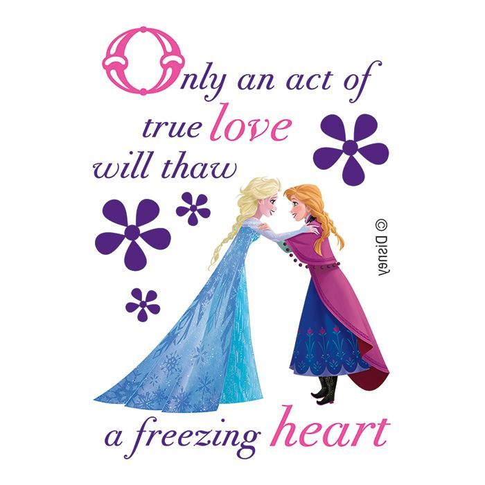 Thaw a Freezing Heart Design Water Transfer Temporary Tattoo(fake Tattoo) Stickers NO.14037