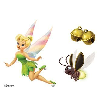 Tinker Bells Design Water Transfer Temporary Tattoo(fake Tattoo) Stickers NO.14046